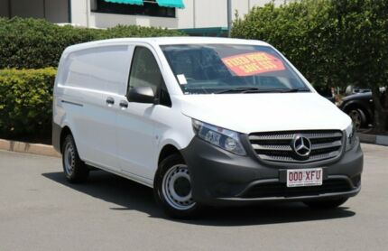2017 Mercedes-Benz Vito 447 114BlueTEC SWB 7G-Tronic + White 7 Speed Sports Automatic Van Acacia Ridge Brisbane South West Preview
