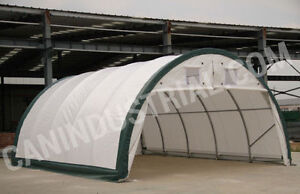 20x30x12 - Portable Fabric Storage Building Tent SPRING SALE