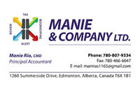 Manie & Company LTD Affordable Accounting & Tax Solutions!