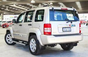 2010 Jeep Cherokee KK Limited (4x4) Gold 4 Speed Automatic Wagon