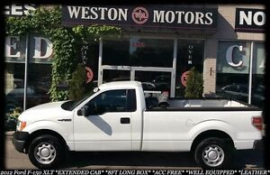 2012 Ford F-150 XLT*ACC FREE*LEATHER*8FT LONG BOX*EXTENDED CAB