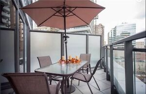 Come Live At Beautiful Yorkville Condo With A Terrace&Balcony
