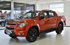 2015 Holden Colorado RG MY16 Z71 (4x4) Orange 6 Speed Automatic Crewcab Morley Bayswater Area Preview