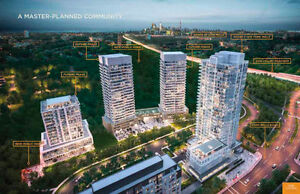 Condo with $10,000 OFF Free Parking at York Mills/404