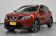 2016 Nissan Qashqai J11 TI Red 1 Speed Constant Variable Wagon Brooklyn Brimbank Area Preview