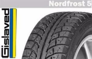 Set of 4 brand new P225/50R17 Gislaved NF5 winter tires