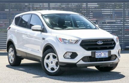 2017 Ford Escape ZG Ambiente AWD White 6 Speed Sports Automatic Wagon