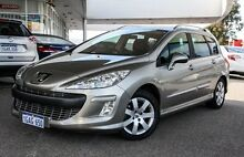 2011 Peugeot 308 T7 XSE Turbo Touring Grey 6 Speed Sports Automatic Wagon Osborne Park Stirling Area Preview