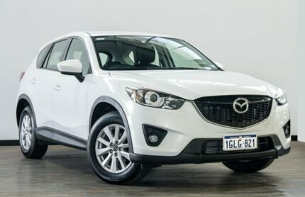 2012 Mazda CX-5 KE1021 Maxx SKYACTIV-Drive AWD Sport White 6 Speed Sports Automatic Wagon Myaree Melville Area Preview