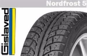 Set of 4 brand new Gislaved NF5 P225/50R17 winter tires