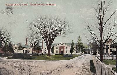 For sale Antique POSTCARD c1910 Watertown Arsenal WATERTOWN, MA 17824