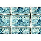 NATIONAL GUARD (1953) - #1017 Full Mint -MNH- Sheet of 50 Postage Stamps