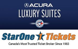 Toronto Blue Jays Tickets ~ Luxury SUITES 12 or 16 person!!!!!!!