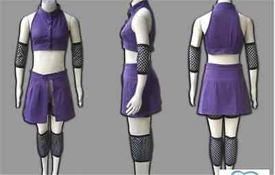Cosplay Costume NARUTO Shippuden Ino Yamanaka Anime Purple suit