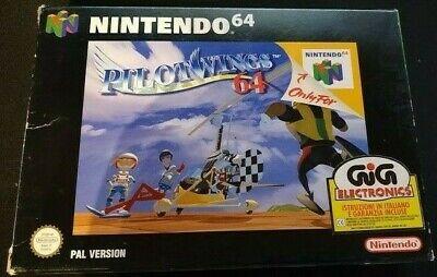 Pilotwings 64 - Nintendo 64 N64, GIG, Italiano