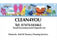 DOMESTIC- END OF TENANCY CLEANING HUDDERSFIELD