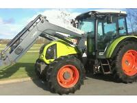 Claas 340Cx 4Wd Tractor With Quickie Q46 Loader 2011