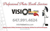 PHOTO BOOTH Services – GTA, York Region, Peel and Durham Region