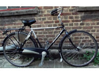 Single Opafiets classic vintage dutch bike Gazelle very comfy - 1 speed, size 20in Welcome for ride