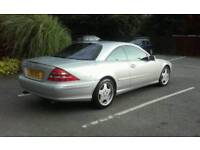 2001 Mercedes CL500 (private reg including. Y50OCL)