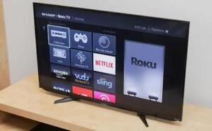 "32"" Sharp  hi DEF 1080p flatscreen TV only $130.00 bucks !!!"