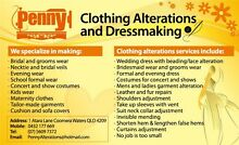Penny Clothing Alterations and Dressmaking Coomera Gold Coast North Preview