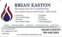 BRIAN EASTON HEATING AND AIR CONDITIONING