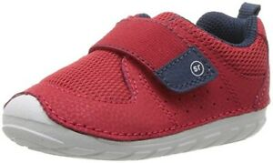 Stride Rite SM Ripley shoes toddler size 6W - Red/Navy