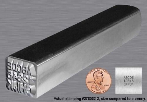 STEEL HAND STAMP (CUSTOM) Metal Marking Punch (SMALL)~Logo Estimates Available.