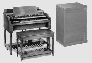 Large Hammond Church style organ and tone cabs or Leslie speaker