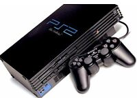 Sony PS2 PlayStation 2 Black Console with 38 Games