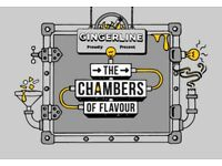 2 x Tickets Gingerline: Chambers of Flavours - Tuesday 19th June