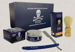 The Bluebeards Revenge Cut Throat Razor Starter Pack