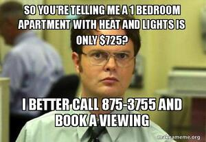 Braemore Plaza - $725 Heat and Lights Included!