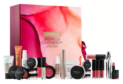 bareMinerals 24 Days of Clean Beauty Christmas Advent Calendar New ($244 Value)