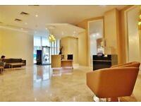 Superb 13th floor 1 bed flat in development with 24hr concierge built above Aldgate East tube