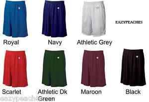 Champion-Mens-NEW-Size-S-3XL-Athletic-Poly-Mesh-Gym-Basketball-Shorts-9-Inseam