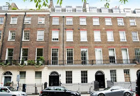 Stunning newly converted 1 bedroom private roof terrace in Regent's Park gated gardens Dorset Square