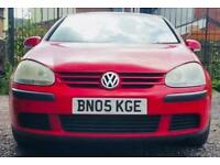 VOLKSWAGEN GOLF 2.0 SDI - DIESEL - LOW MILES - CHEAP TO RUN - RED
