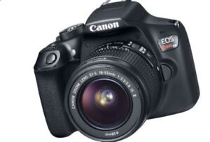 Digital Camera Canon Rebel T6 with 18-55mm Lens