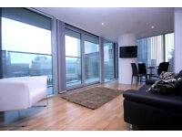 AVAILABLE NOW HIGH FLOOR STUNNING 1 BEDROOM IN LANDMARK EAST TOWER E14 AVAILABLE TO RENT NOW