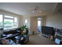 2 DOUBLE BED FLAT AVAILABLE IN SECURE BLOCK WITH LIFT, CARETAKER, INCLUDES HOT WATER & HEATING