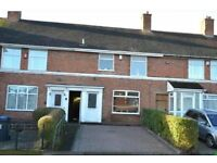 3 Double Bedroom House for Rent in Weoley Castle, Ideally Shared by 3 Professionals or Students