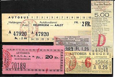 BUS  tickets  provincie  Antwerpen , Brabant , vlanderen