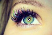 Full Set Of Eyelash Extensions For Only($65)Limited Time Offer.
