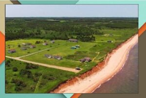 Summer beachfront cottage rental in PEI