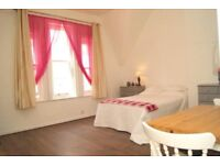 VERY SPACIOUS & MODERN FURNISHED SECOND FLOOR STUDIO FLAT SITUATED ON THE WEST CLIFF