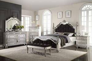 LAST ONE: White Diamond Collection BED