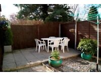 SOME BILLS INCLUDED - UNFURNISHED MODERN 1 BEDROOM MAISONETTE WITH PRIVATE REAR GARDENIN CHARMINSTER