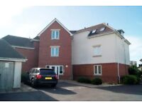 Spacious Unfurnished 2 Bedroom Top Floor Flat with Parking situated close to Poole Hospital